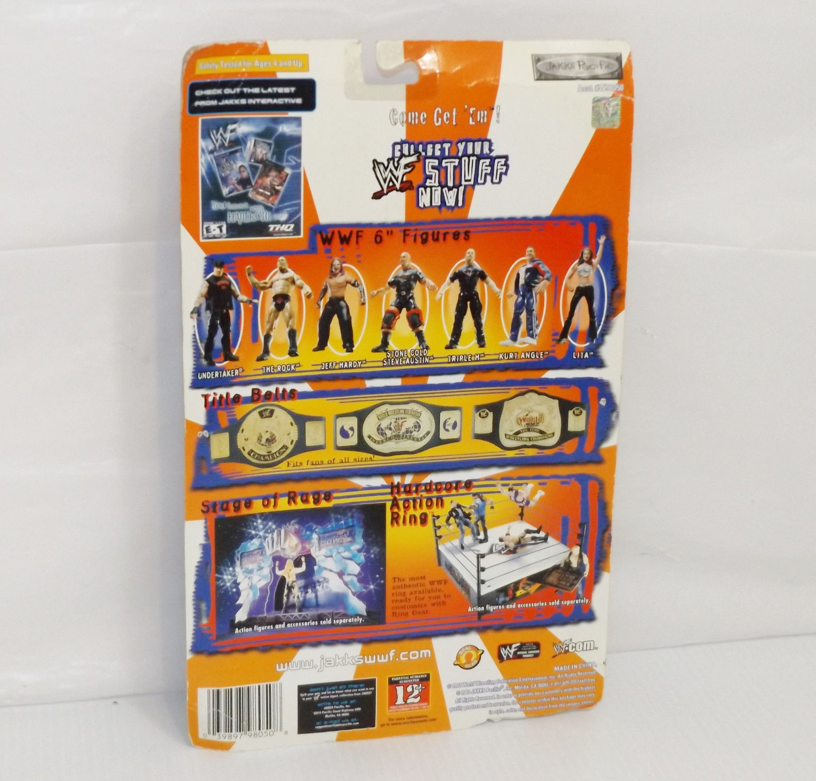 "New! 2002 Jakk's Pacific Royal Rumble ""Ric Flair"" Action Figure WWF WWE [895] image 2"