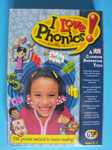 Beadshine DK Multimedia I Love Phonics Dvd Full Version for Windows Lear... - $12.86