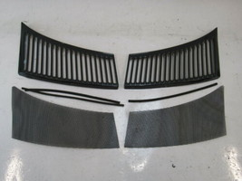 87 Mercedes R107 560SL grill set, for cowl air intake - $46.74