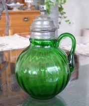 "Beaumont ""Tubby Optic"" Syrup Jug circa 1895 - $116.88"