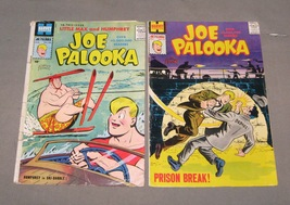 Joe Palooka comic lot of 2, 1959 #109 and 113, Little Max & Humphrey silver age  - £21.31 GBP