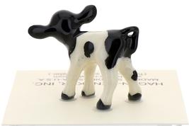 Hagen-Renaker Miniature Ceramic Cow Figurine Holstein Calf image 3