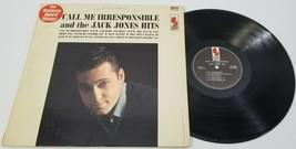 MS) Call Me Irresponsible and the Jack Jones Hits - Vinyl Record - Kapp ... - £11.74 GBP