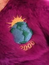 "TY ""Millennium"" Teddy Bear Beanie Buddy 1999 Stuffed plush image 2"