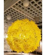 "IKEA GRIMSAS Pendant lamp, Yellow,22 "", Projects decorative patterns - $75.73"