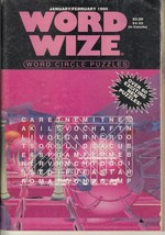 Word Wize - Word Circle Puzzles - January - February 1995 - 20 New Puzzles! - $1.37