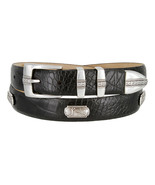 "Golf of Scottsdale - Mens Leather Italian Calfskin Concho Dress Belt 1-1/8"" Wide - $39.95"