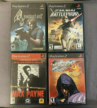 Set of 4 Good Condition Used PS2 Games - See Description for Titles - - $25.69