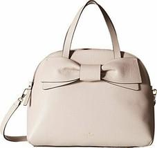 Kate Spade New York Women's Olive Drive Lottie Leather Satchel - Bone Grey - $395.94 CAD