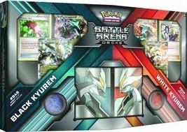 Pokemon TCG Black Kyurem vs White Kyurem Battle Arena Decks Sealed Packs... - $37.99