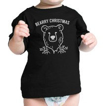 Bearry Christmas Bear Baby Black Shirt - $13.99