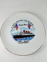 Queen Mary Long Beach California Wall Hanging D... - $12.99