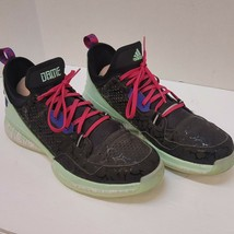 Adidas D Lillard 1 Promo Sample Sz 13 Glow In The Dark Halloween Ballin ... - $139.88