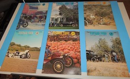 The Vintage Ford Magazine 1977 Model T Club of America COMPLETE YEAR Lot  6 ea - $19.39