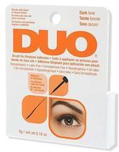 Ardell DUO Brush On Striplash Eyelash Adhesive Glue Dark 0.25 oz - $8.99