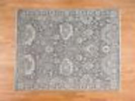 "7'10""x10'2"" Silk With Oxidized Wool Handmade Oushak Influence Rug G39935 - $4,177.80"