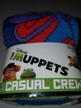 Disney the muppets mens casual crew socks 5 pairs nwt size 10  13 - $21.95