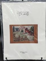 Cross Stitch Kit #50858 VTG Candamar Designs Fall House John Sloane Four... - $24.95