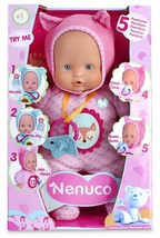 Nenuco Doll Toy With 5 Functions For Girl Small Of 1-5 Years Colour Pink - $172.99