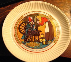 Wedgwood Rumpelstiltskin Plate - Vintage 1977 Children's Fairy Tale Engl... - $25.74