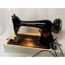 Authentic Vintage Singer Sewing Machine  - $88.83