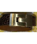 Leighelena Gold Tone Lizard Wrap Bracelet - $44.43