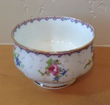 Royal Albert Petit Point Mini Open Sugar Bowl Needlepoint Design Floral ... - $9.49