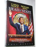 Head of State DVD, 2003, Full Frame, Bernie Mac, Comedy, U.S.A - $6.26
