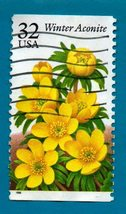 Scott  #3026 - United States Collectible Postage Stamp -  Winter Aconite - $1.99