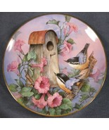 Royal Doulton Nuthatch Nook Collector Plate Carolyn Shores Wright Frankl... - $14.95