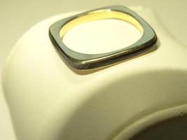 70s Cartier France 18k Yel. Gold Enamel Ring Pendant by DINH VAN Size 5 Signed - $1,138.50