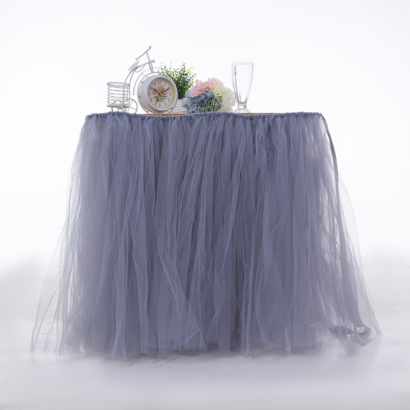 Any Color TABLE TUTU Skirt Rainbow Table Tulle Skirt Tutu Tulle Table Decoration