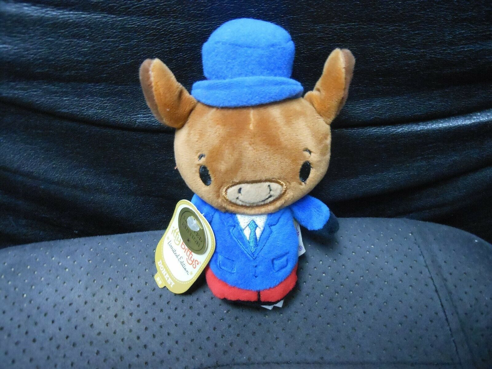 "Primary image for Hallmark Itty Bitty's ""Patriotic Donkey "" 2016 Limited Ed. NEW TAG HAS CREASES"