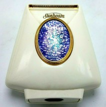 Vintage Ladies Sunbeam Electric Shaver w Integrated Light Complete in Box - $30.50