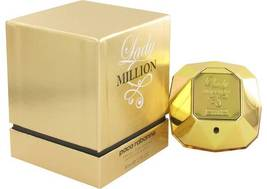 Paco RabanneLady Million Absolutely Gold 2.7 Oz Pure Perfume Spray image 2