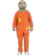 Trick or Treat Sam Burlap Jack-o-Lantern Halloween Costume One Size Mens... - $44.99