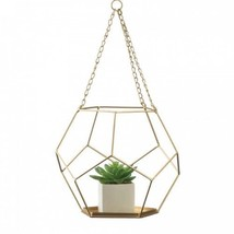 Hanging Geometric Plant Holder - $23.99
