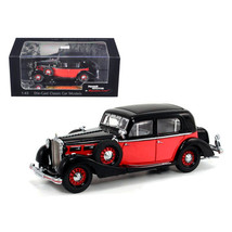 1935 Maybach SW35 Spohn Black/Red Hardtop 1/43 Diecast Car Model by Sign... - $40.27