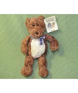 "13"" GUND BEST FRIENDS TEDDY BEAR PLUSH STUFFED ANIMAL WITH HANG TAG BROW... - $18.70"
