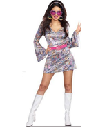 Adult 60s Love-Fest Hippie Costume - Womens - $27.95