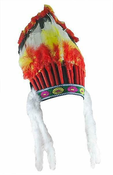 Forum Novelties Amérindien Indien Coiffe Chef Accessoire Halloween 57572