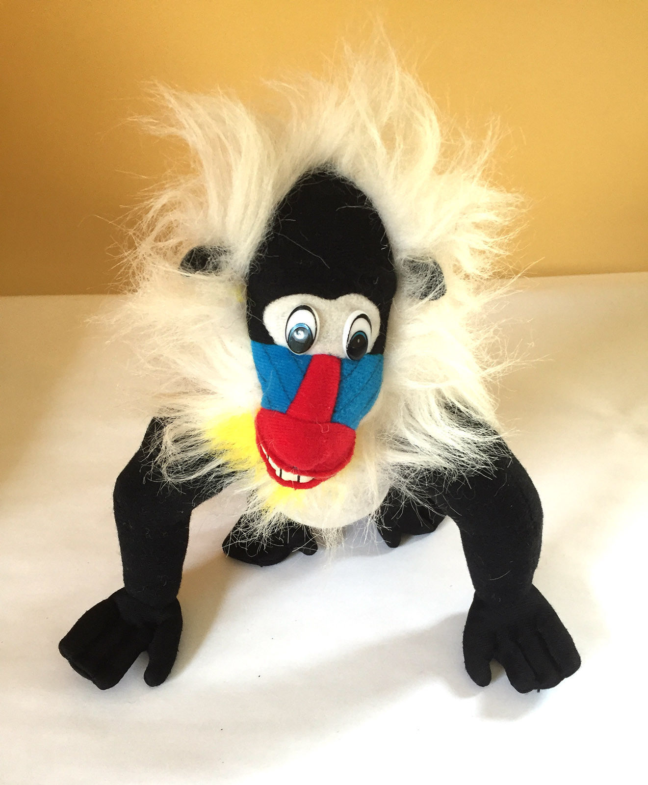 "Primary image for Acme Mandril Baboon Plush 8 1/2"" 1995"