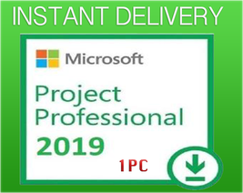 MS Project 2019 Professional 32/64 Bit Key & Download - INSTANT DELIVERY - $10.90