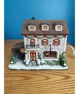 St Nicholas Square Winter Winery Light Up Christmas Village Holiday Disp... - $34.60