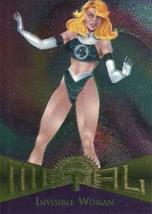 Fleer Marvel Metal #33 INVISIBLE WOMAN Silver Parallel Chase Card - $2.93