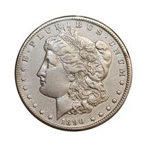 1890 CC Morgan Silver Dollar - AU / Almost Uncirculated - $237.00