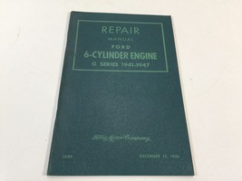 1941 to 1947 Ford Repair Manual 3694 6-Cylinder Engine G Series - $14.99