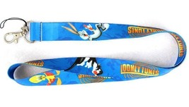 LOONEY TUNES Lanyard Pin Trading Bugs Bunny Tweety Sylvester Cat - $4.95