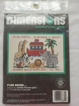 """Dimensions PLAN AHEAD Noah's Ark Counted Cross Stitch Kit 5"""" x 7"""" - $9.85"""