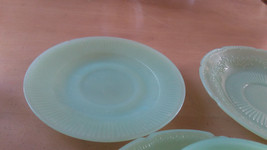 Fire King Jadeite Green TEA CUP AND 3 SAUCERS O... - $25.00